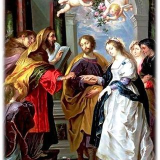 Betrothal of Mary to Joseph
