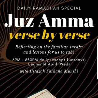 Verse By Verse Juz Amma