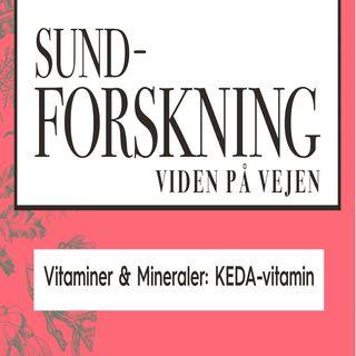 Vitaminer & Mineraler: KEDA-vitamin