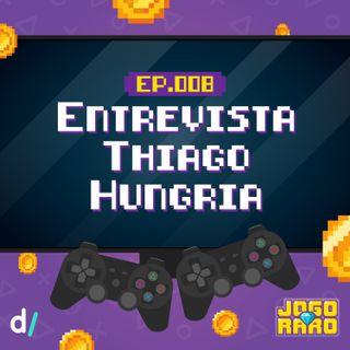 Ep. 08 - Entrevista: Thiago Hungria - (Maior colecionador Resident Evil do Brasil)