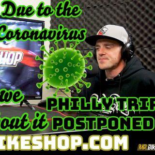 UMP Bikelife Ep. #023 | Coronavirus Postpones Podcast Travel | Go Visit mrbikeshop.com