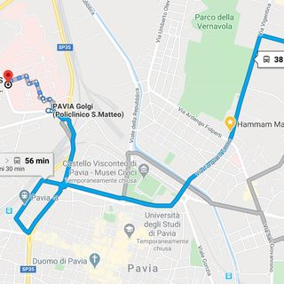 Andata - Pavia nel Lockdown