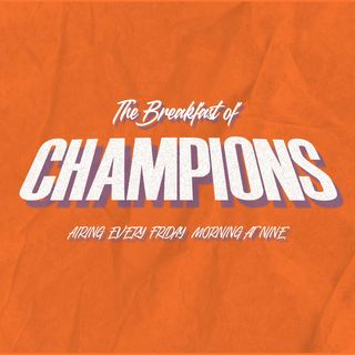 The Breakfast of Champions Show Ep. 14- Spring 2021