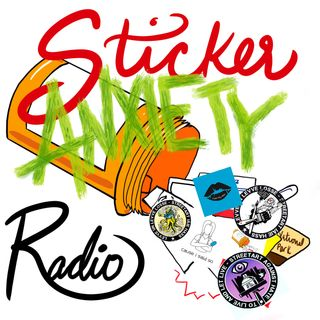 Sticker Anxiety Radio
