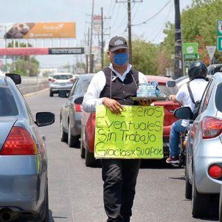 Dispara pandemia de coronavirus la pobreza a niveles récord en México