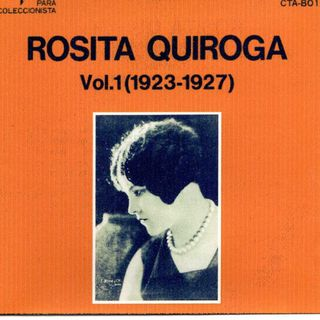 04 Rosita Quiroga , woman in the Tango