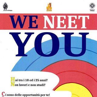 Parte WE NEET YOU! Michele Sogari ci racconta il progetto dell' Ufficio Giovani del Comune di Bologna