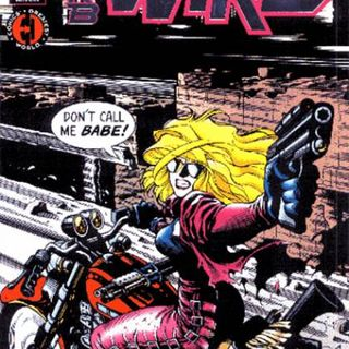 Source Material #185 - Barb Wire (Dark Horse, 1994)