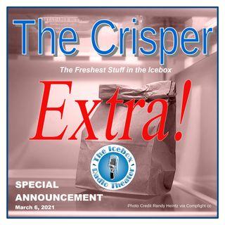 Crisper Extra: IBRT SPECIAL ANNOUNCEMENT!