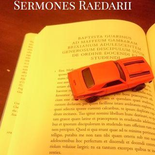 Sermo Raedarius 105 - historia familiae meae pars 2.