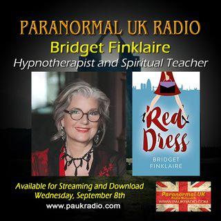 Paranormal UK Radio Show - Bridget Finklaire: Hypnotherapist and Spiritual Teacher - 09/08/2021