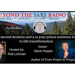 Steve Hopper : Author of From Prison to Purpose