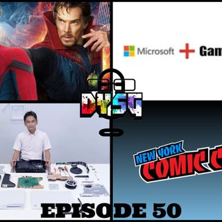 Episode 50 (NYCC 2020, Game Stop/Microsoft, PS5 Teardown, and more)