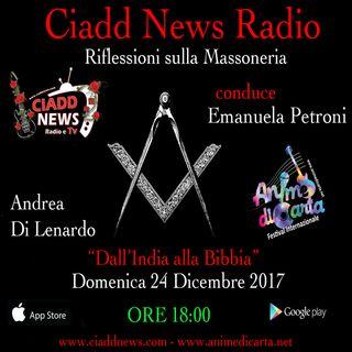 N° 32 – RIFL. SULLA MASSONERIA – conduce Emanuela Petroni – Ospiti: – Andrea Di Lenardo