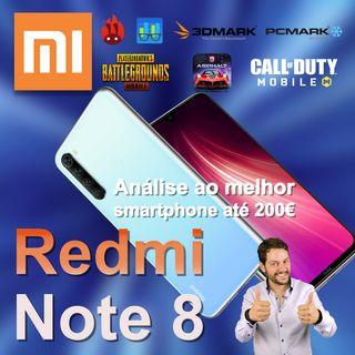 Xiaomi Redmi Note 8 - review ao melhor smartphone até 200€ em 2019 / 2020