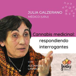 Ep 020 Cannabis medicinal: usos, beneficios y contraindicaciones con la Dra. Julia Galzerano