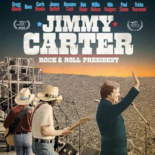 Alla vigilia delle Presidenziali USA è uscito un docufilm su Jimmy Carter, che fu il primo Presidente Rock. Nel film è presente anche BONO.