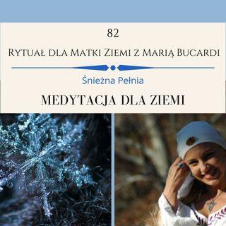 Moje osobiste sprawozdanie Marii Bucardi z 82 Rytuału dla Matki Ziemi w Gruzji ❄️śnieżna Pełnia