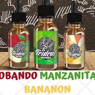 TRIDENT VAPERS  (Manzanita y Bananon) PRUEBA