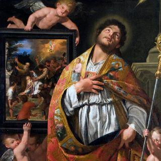 Giuseppe Alberti, Estasi di San Vigilio