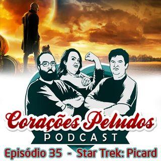 Corações Peludos 35 - Star Trek: Picard
