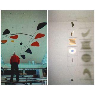 Il rinnovo della scultura: le opere sospese di Alexander Calder e Bruno Munari