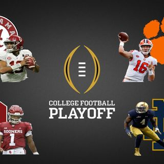College Football Preview & Predictions! Bama vs OU-Clemson vs ND & More!