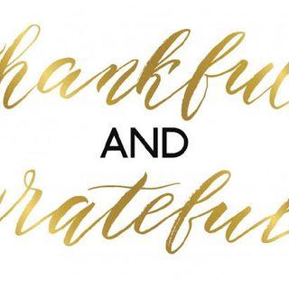 Being Grateful.