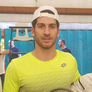 """Samuele Ramazzotti: """"Soddisfatto del match con Quinzi. Ora futures in Grecia"""""""
