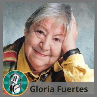 Alba María Sánchez con Gloria Fuertes