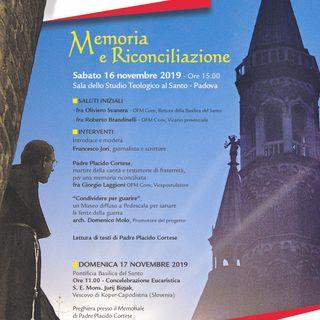 Memoria e riconciliazione - p.Placido C.