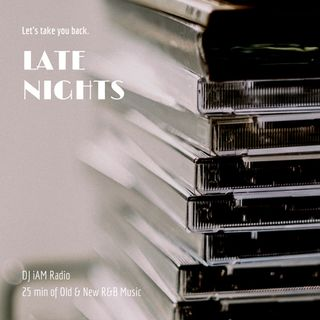DJ iAM Late Nights R&B Mixtape 1