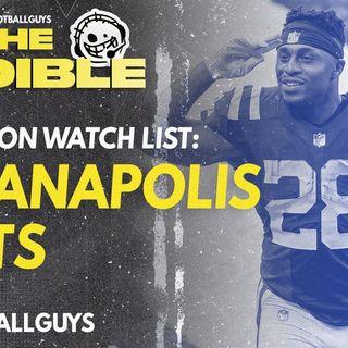 2021 Fantasy Football - Indianapolis Colts Preseason Watch List