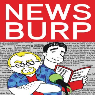 News Burp #236 - The magical disappearing monolith of Utah