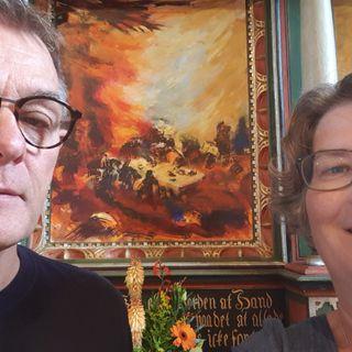 17. s. e. trinitatis. Troels Laursen i samtale med Birgitte Krøyer
