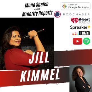 PEOPLE THINK HER AND HER BROTHER JIMMY KIMMEL ARE JEWISH-Minority Reportz Ep. 5 w/Jill Kimmel (Hart of the City, Hilarious Comedienne)