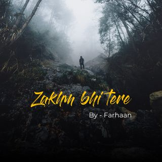 Zakhm bhi tere