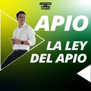 Ley del Apio