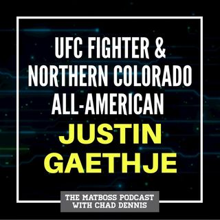 UFC fighter and Northern Colorado All-American Justin Gaethje