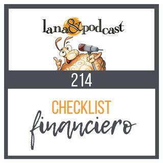 Checklist Financiero para tener éxito Podcast #214