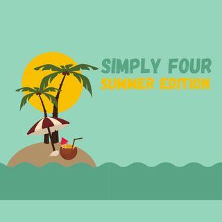 2 puntata simply four summer edition ospite Tommaso Stanzani