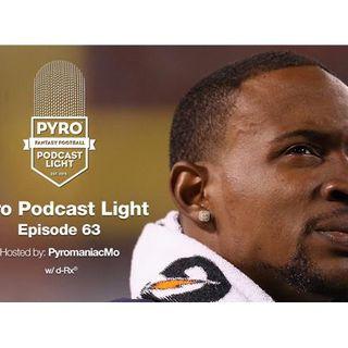 Pyro Light Fantasy Football Podcast – episode 63 – 2017 off-season