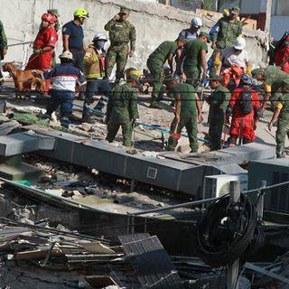 Segundo terremoto en México de 7.1