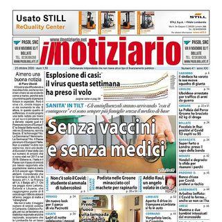 Prima pagina - Il notiziario 23 ottobre 2020