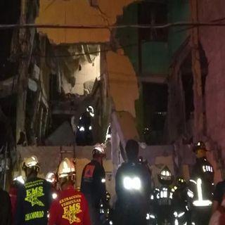 Deja dos muertos explosión en la colonia Morelos