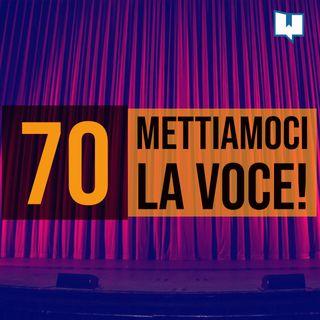 70 - Public speaking e lettura a voce alta con Elisa Colleoni
