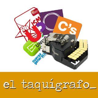 El taquígrafo (01/03/2016) #Taquígrafo5 #SesiónDeInvestidura