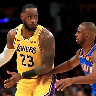 LeBron Makes History In Lakers Victory