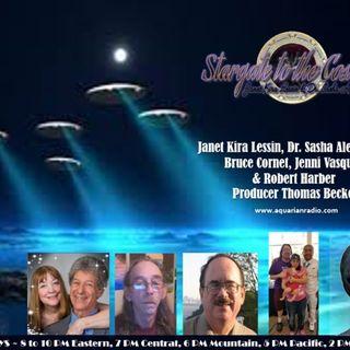 Panel:12-03-19~ Bruce Cornet,Jenni Vasquez,Robert Harber,Janet & Sasha Lessin