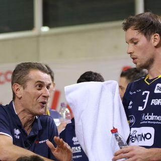 Cev Cup De Angelis, Van Garderen e Lorenzetti dopo il 3-0 a Losanna
